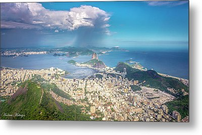 Metal Print featuring the photograph Rio De Janeiro by Andrew Matwijec