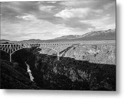 Metal Print featuring the photograph Rio Grande Gorge Birdge by Marilyn Hunt