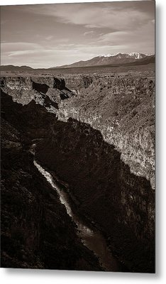 Metal Print featuring the photograph Rio Grande River Taos by Marilyn Hunt