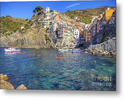 Metal Print featuring the photograph Riomaggiore by Spencer Baugh