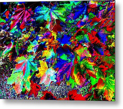 Riot Of Color Metal Print by Will Borden