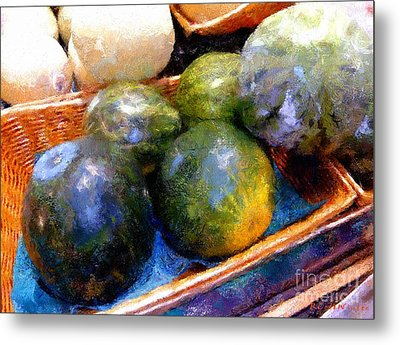 Ripe And Luscious Melons Metal Print by RC DeWinter