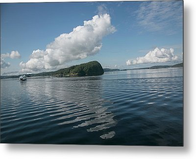 Metal Print featuring the photograph Ripples by Elvira Butler