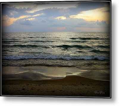 Ripples On The Shore Metal Print by Trina Prenzi