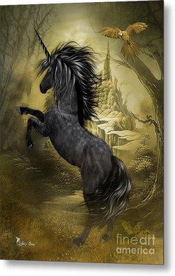 Rise Of The Unicorn Metal Print