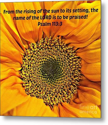 Rising Of The Sun Metal Print