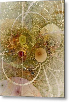 Rising Spring - Fractal Art Metal Print by NirvanaBlues