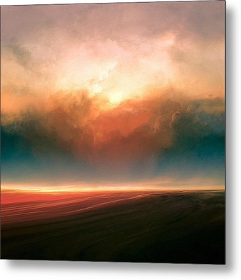 Rising Sun Metal Print by Lonnie Christopher