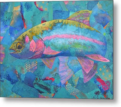 River Bow Metal Print by Nancy Jolley