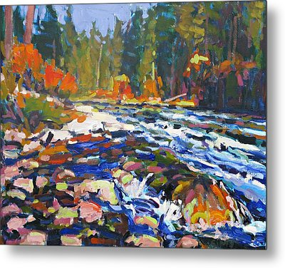 River Metal Print by Brian Simons