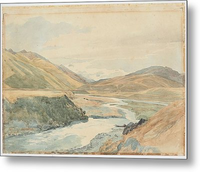 River Clarence 1864 New Zealand By James Crowe Richmond Metal Print