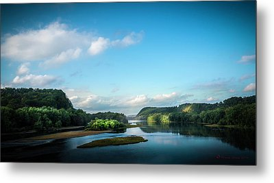 River Islands Metal Print by Marvin Spates