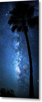 Metal Print featuring the photograph River Of Stars by Mark Andrew Thomas