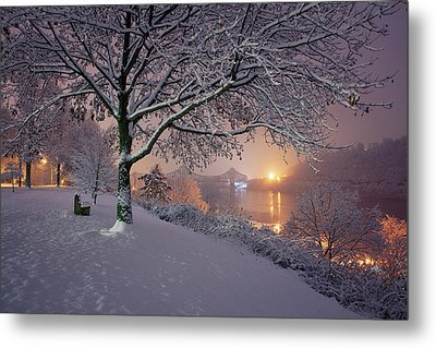 River Road  Metal Print