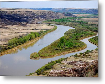 Metal Print featuring the photograph River by Sergey and Svetlana Nassyrov
