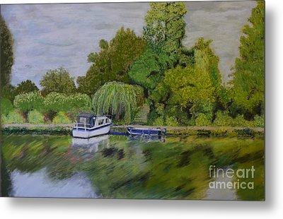 River Thames Hampton Metal Print