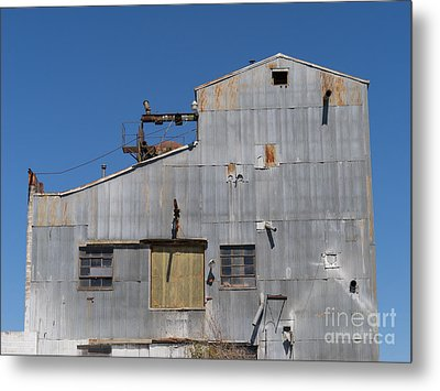 River Town Feed And Pet Country Store In Petaluma California Usa Dsc3854 Metal Print by Wingsdomain Art and Photography
