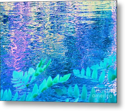 Distractions From The River Waters Metal Print