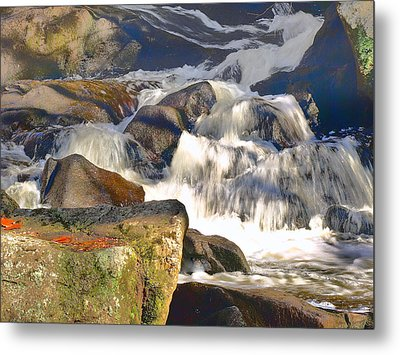 Metal Print featuring the photograph River Wild by Raymond Earley