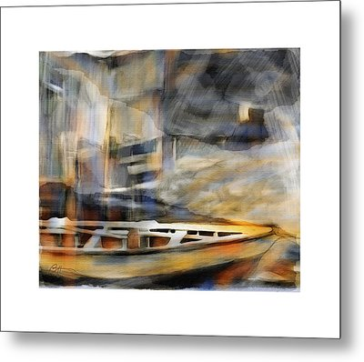 Riverboat Metal Print by Bob Salo