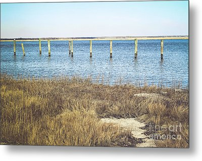 Metal Print featuring the photograph River's Edge by Colleen Kammerer