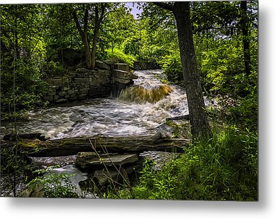 Riverside Metal Print by Mark Myhaver