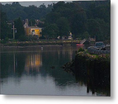 Riverview Reflections Metal Print by Margie Avellino