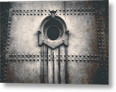 Rivets And Rust Metal Print