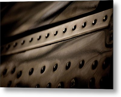 Metal Print featuring the photograph Rivets by Paul Job