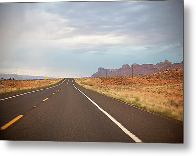 Road Metal Print by Elena Fantini