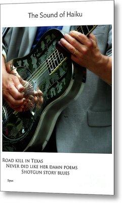 Road Kill In Texas  Metal Print by Steven Digman