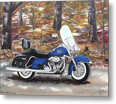 Road King Metal Print