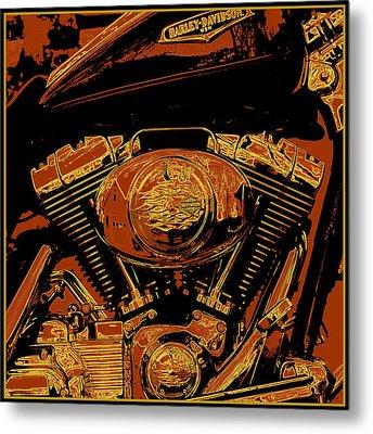 Road King Metal Print by Gary Grayson