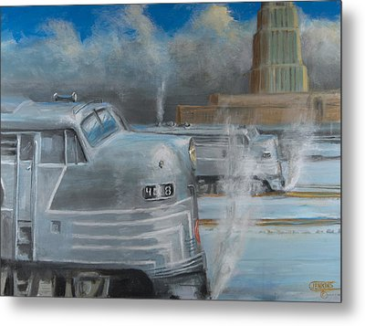 Road Power At Buffalo Metal Print by Christopher Jenkins