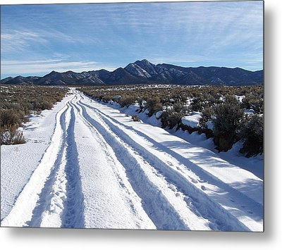 The Road Of Happiness Metal Print