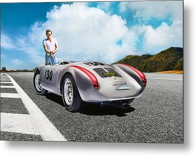 Road To Eternity Metal Print by Peter Chilelli