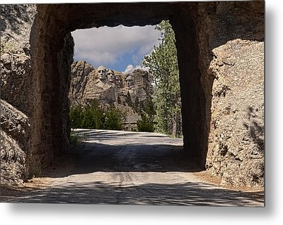 Road To Mt. Rushmore Metal Print by Michael Flood