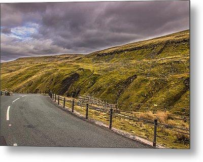 Road To No Where Metal Print by David Warrington