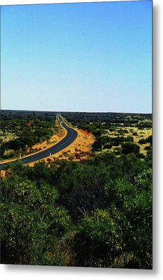 Road To Nowhere Metal Print by Gary Wonning