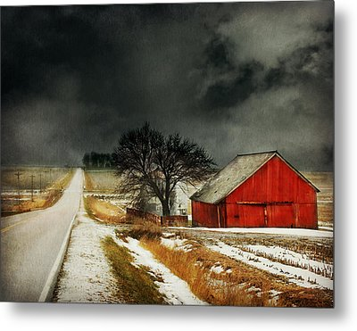 Road To Nowhere Metal Print by Julie Hamilton
