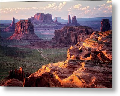 Road To Nowhere  Metal Print by Nicki Frates