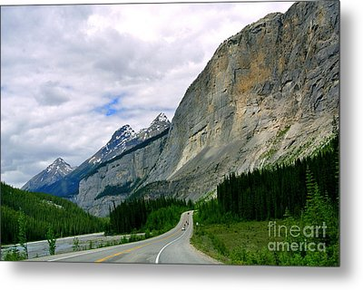 Road Trip  Metal Print by Elfriede Fulda