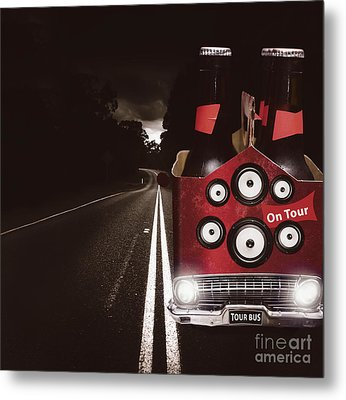 Roadies On Beer Festival Tour Metal Print by Jorgo Photography - Wall Art Gallery