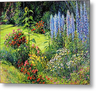 Roadside Garden Metal Print by Steve Spencer