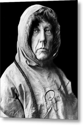 Roald Amundsen, The First Person Metal Print by Everett