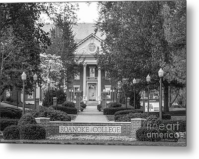 Administration Building Roanoke College Metal Print by University Icons