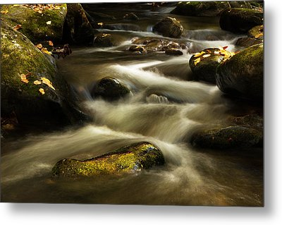 Autumn At Roaring Fork River Metal Print