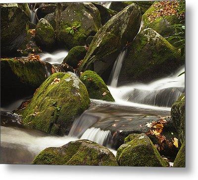 Roaring Fork Waterfall Metal Print by Andrew Soundarajan