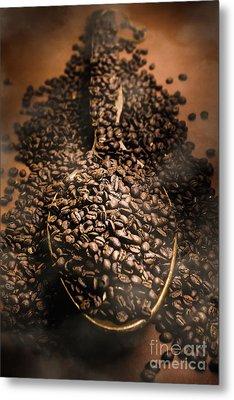 Roasting Coffee Bean Brew Metal Print by Jorgo Photography - Wall Art Gallery