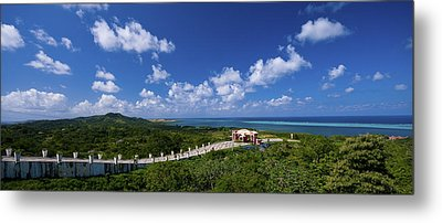 Roatan Lookout Metal Print by Ryan Heffron